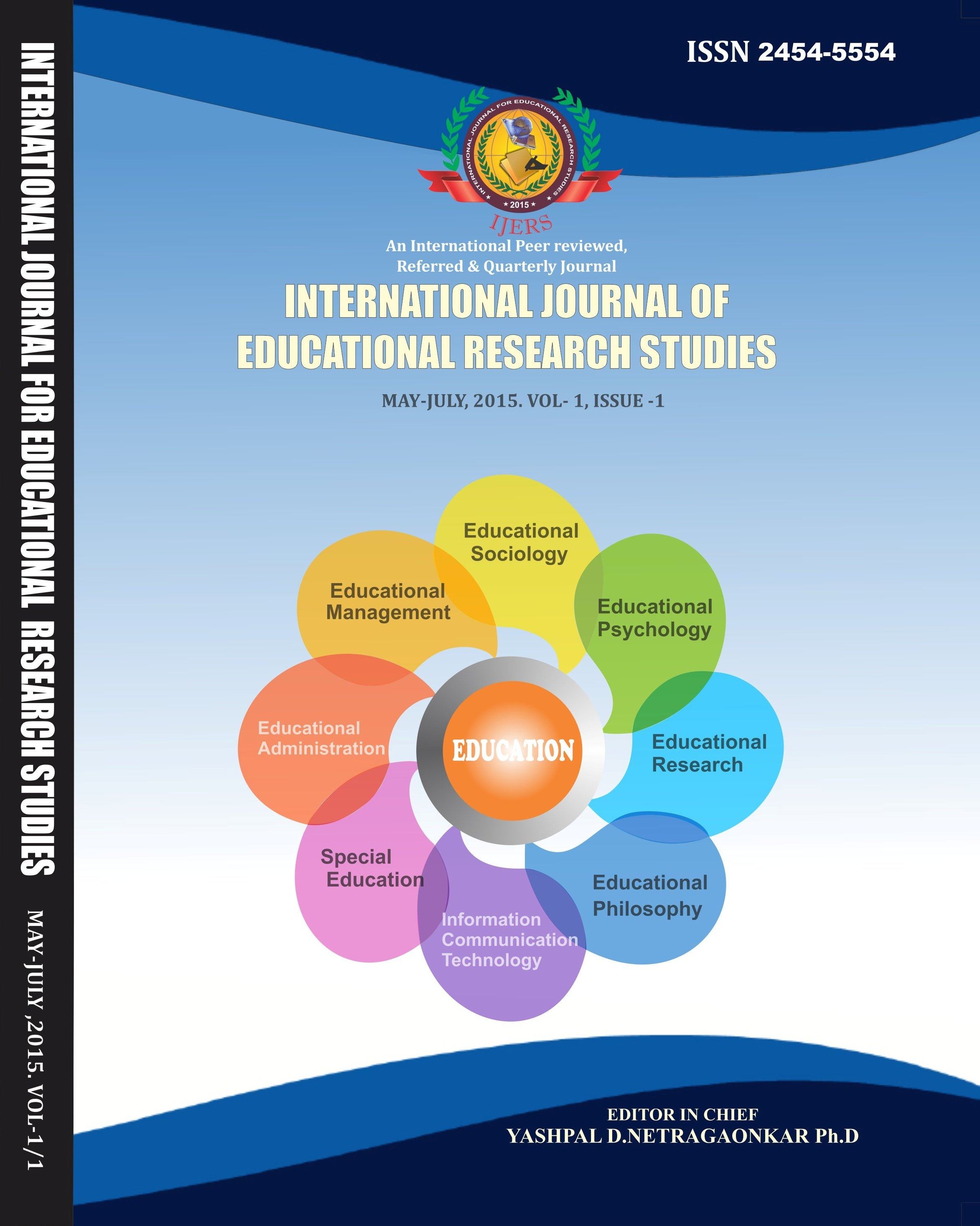 Scholarly Research Journal for Humanity Sciences & English Language